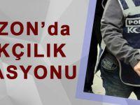 Trabzon'da Kaçakçılık Operasyonu