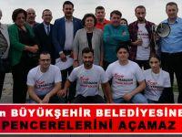 Trabzon Sahilindeki Kötü Koku Vatandaşları İsyan Ettirdi.