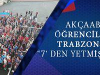 Akçaabatlı Öğrencilerden Trabzonspor'a Formalı Destek!