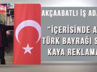 Kaya Reklam'dan,Akçaabat'ta Tüm Okullara Ve Kurumlara Türk Bayrağı Ve Atatürk Posteri