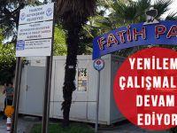 Fatih Parkı'nda Yenileme Çalışmaları Devam Ediyor