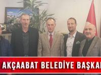 İYİ Parti'den Akçaabat Belediye Başkanı Şefik Türkmen'e Ziyaret!