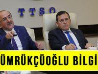 Başkan Gümrükçüoğlu, TTSO Yönetim Kurulunu Bilgilendirdi