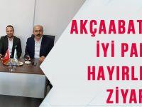 Akçaabat CHP'den İYİ Parti'ye Hayırlı Olsun Ziyareti!