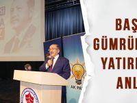 Başkan Gümrükçüoğlu Yatırımları Anlattı