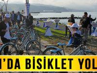 Trabzon'da Bisiklet Yolu Açıldı