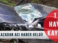 Akçaabat'taki Kazadan Acı Haber Geldi!