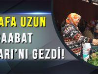 Mustafa Uzun,Akçaabat Salı Pazarı'nı Gezdi