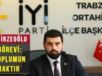 İYİ Parti Ortahisar İlçe Başkanı Mehmet Can Emirzeoğlu'ndan Öğretmenler Günü Mesajı