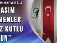 """Tamer Özlü """"24 Kasım Öğretmenler Günümüz Kutlu Olsun"""""""