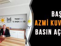 """İYİ Parti Trabzon İl Başkanından """"5 Aralık Kadın Hakları Günü"""" Açıklaması"""