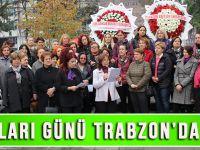 Kadın Hakları Günü Trabzon'da Gerçekleştirilen Törenle Kutlandı!