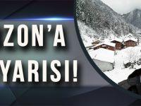 Trabzon'un Yüksek Kesimlerinde Bu Gece Kar Yağışı Bekleniyor.