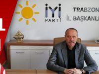 İYİ Parti Trabzon İl Başkanlığının Yeni Yıl Mesajı