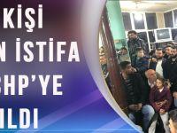 250 AKP Üyesi, İstifa Dilekçelerini Verip Cumhuriyet Halk Partisi'ne Üye Oldu.