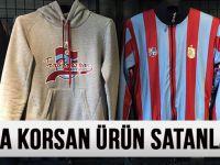 Trabzon'da Lisanssız Ürün Satanlara Yönelik Operasyon Yapıldı
