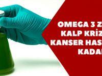 Omega 3 Zengini, Kalp Krizinden Kanser Hastalığına Kadar…