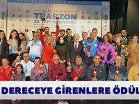 Maratonda Dereceye Girenlere Ödülleri Takdim Edildi