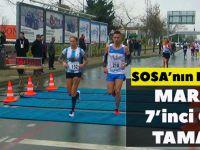 Sosa'nın Eşi Carolina, Maratonu 7'inci Olarak Tamamladı