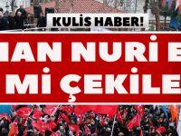 Akçaabat Mitingi İle İlgili Yorum… Osman Nuri Ekim Geri Mi Çekilecek?