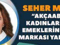 """Seher Melek """"Narin Eller"""" Projemiz İle Kadınlarımızın Başarısına Başarı Katıp...!"""