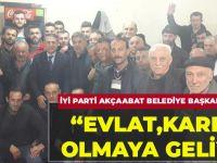 İYİ Parti Akçaabat Belediye Başkan Adayı Osman Akbulut'tan Akçaabat Esnafına Mesaj…