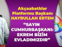 Akçaabatlılar Platformu Ekrem İmamoğlu'na Sahip Çıktı!
