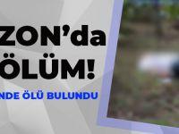 Trabzon'da Fındık Bahçesinde Ölü Bulundu!