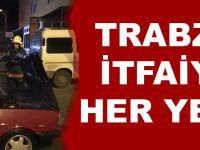 Trabzon İtfaiyesi Her Yerde