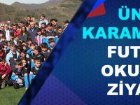 Trabzonspor Borçka Futbol Okulu'nu Ziyaret Etti..