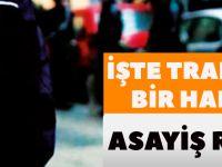 İşte Trabzon'un Bir Haftalık Asayiş Raporu.