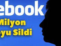 Facebook 1.5 Milyon Videoyu Sildi