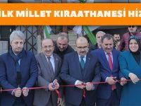 Trabzon'un İlk Millet Kıraathanesi Hizmete Açıldı