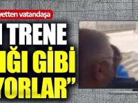 """AKP'li Heyetten Vatandaşa: """"Şeyin Trene Baktığı Gibi Bakıyorlar"""""""