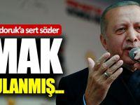 """Cumhurbaşkanı Erdoğan'dan Cindoruk'a: """"Ahmak, Beyni Sulanmış"""""""