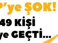 AKP'ye Şok! 1249 Kişi CHP'ye Geçti...