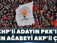 CHP'li Adayın 'PKK'lı' Denen Ağabeyi AKP'li Çıktı!