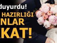 Bakan Duyurdu! Evlilik Hazırlığı Yapanlar Dikkat