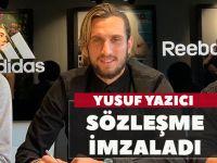 Trabzonsporlu Yusuf Yazıcı 2024'e Kadar Adidas İle Anlaştı