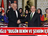 """Başkan Zorluoğlu: """"Bugün Benim Ve Şehrim İçin Özel Bir Gün"""""""