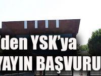TRT'den YSK'ya Canlı Yayın Başvurusu!