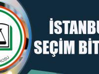 İstanbul Barosu: İstanbul'da Seçimler Bitmiştir
