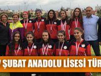 Akçaabat 17 Şubat Anadolu Lisesi Türkiye 3.Oldu