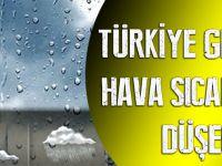 Türkiye Genelinde Hava Sıcaklıkları Düşecek