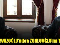 Milletvekili Ayvazoğlu'ndan Zorluoğlu'na Tebrik Ziyareti
