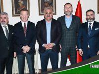Trabzonspor Yönetimininden Zorluoğlu'na Tebrik Ziyareti
