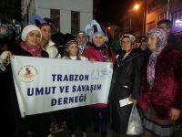 Trabzonspor-Gençlerbirliği Maçını İzlediler
