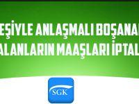 Trabzon'da Eşiyle Anlaşmalı Boşanarak SGK'dan Maaş Alanların Maaşları İptal Edildi