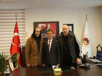 Ercan Çimen'e Hayırlı Olsun Ziyareti