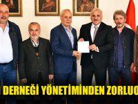 Tarihi Damaltı Derneği Yönetiminden Zorluoğlu'na Ziyaret